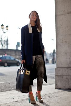 Paris Fashion Week 2013 Street Style. The bag.