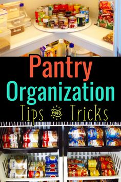 Declutter and organize your kitchen pantry with these pantry organization tips and tricks. The pantry attracts so much clutter here's how Professional Organizers get organized in kitchen pantry areas (put this in your printable household notebook! Organisation Hacks, Pantry Organization, Pantry Ideas, Organized Pantry, Notebook Organization, Organization Ideas, Storing Spices, Household Notebook, Kitchen Pantry