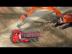 RC Truck Action! Truck Parcours @ Modellbau Wels 2016 - YouTube
