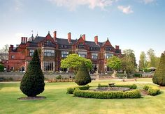 A relaxing stay in the historic tranquility of Hoar Cross Hall Spa Resort, with breakfast, lunch and dinner, and access to the spa facilities