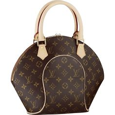 The Practical Smaller Sized Louis Vuitton Ellipse Pm Bag Offers An Interior Patch Pocket And A D Ring To Attach Pouch Or Key Holder
