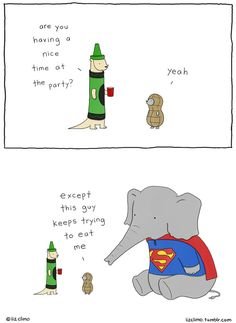 14 Adorable Halloween Comics From Liz Climo Funny Shit, Funny Cute, Funny Jokes, Hilarious, Witty Jokes, Funny Gifs, Funny Stuff, Funny Animal Comics, Funny Comics
