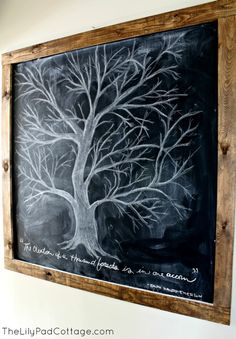 Fall Chalkboard – and why you should never skip breakfast…