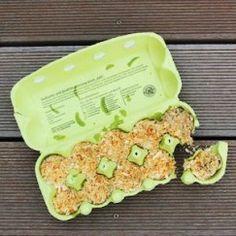Grillanzünder selbst gemacht aus recycelten Abfällen