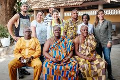 Group Photo - Chief Tema, Nii Kraku, Jasyn, Megan & Clients