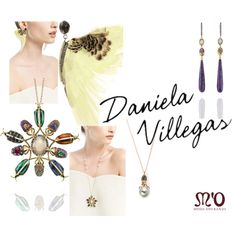 """""""A Menagerie of insect-inspired pieces: Daniela Villegas"""" by modaoperandi on Polyvore"""