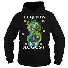 Awesome Tee VEGETA LEGENDS ARE BORN IN AUGUST Shirts & Tees