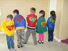 The Brown Eyes Have It: Scripture Power / Super Hero Capes