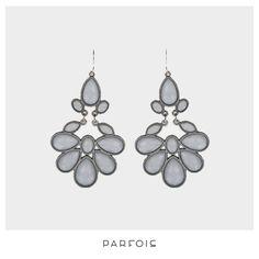Grey Mist Earrings from Parfois
