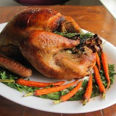 """Chef John's Roast Turkey and Gravy 