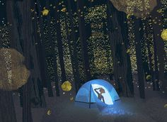 Love this firefly print from Illustratus! Would look great in my future house!
