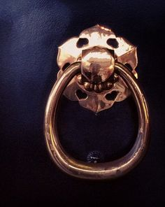 gilt Japanese door handle from Senso-ji Temple