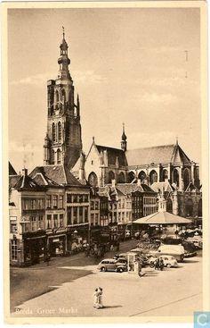 Breda - Grote Markt - 1951