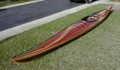 My dreams are filled with wooden kayaks and clear water. Women have wet dreams, too!  lol