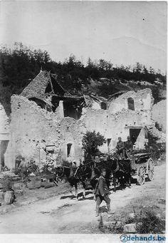 WWI, Samogneux, Meuse, France.