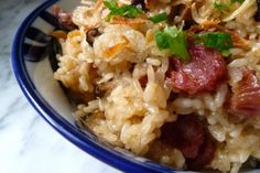 Chinese sausage and sticky rice stuffing
