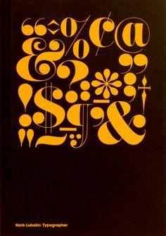 Herb Lubalin: Typographer