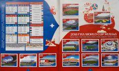 Album figurine mondiali World cup Russia 2018 - Panini FOTO World Cup Russia 2018, World Cup 2018, Fifa World Cup, Football Soccer, Panini, English, Stickers, Hs Sports, Soccer