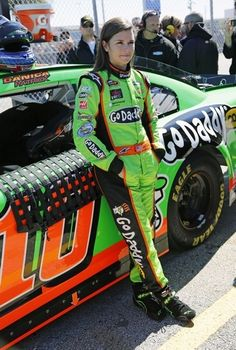 Danica Patrick oh yeah!!! Right after Richard Petty (for me)