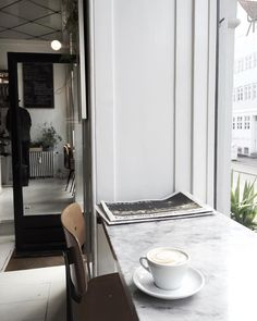 A latergram from one of my favourite coffee places in Copenhagen.