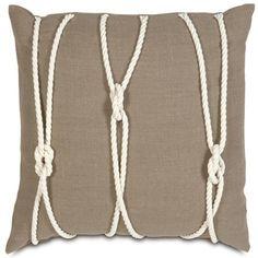 Yacht Knots Designer Pillow design by Studio 773