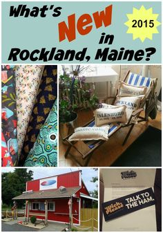 What's New in Rockland, Maine for the summer of 2015? Check out this round-up of food and other delights in our favorite mid coast Maine city.