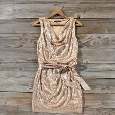 Golden Dew Party Dress. New Years dress??!