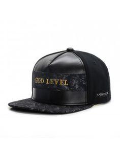 Cayler & Sons Black label God Level snapback cap
