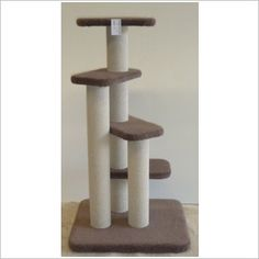 Things for Pets Large Four Step Cat Scratching Pole