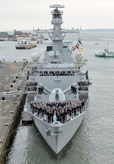 Her Majesty The Queen Visits HMS Lancaster | Royal Navy