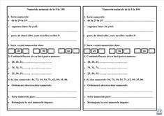 Numerele naturale de la 0 la 100. Joc didactic și fișă de lucru School Lessons, Coloring Pages, Sheet Music, Projects To Try, Bullet Journal, Dessert Recipes, Google, The 100, Quote Coloring Pages