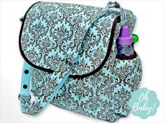 Beautiful Diaper Bag free tutorial!