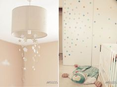 Chambre b b on pinterest tour de lit bebe and mobiles for Luminaire chambre bebe garcon