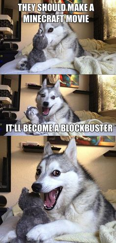 This Husky Knows Its Jokes