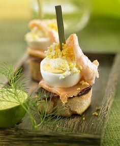 Cocinando con neus cr pes de salm n ahumado cuina - Tapas con salmon ahumado ...