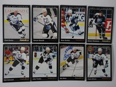 1993-94 Pinnacle Tampa Bay Lightning Team Set of 8 Hockey Cards #TampaBayLightning
