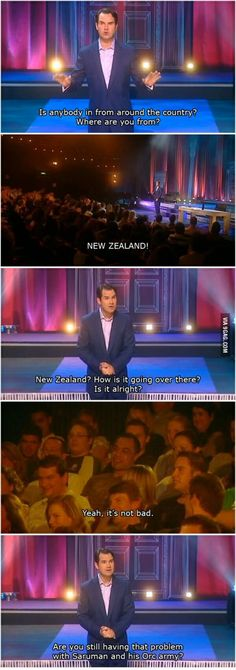 Problems in New Zealand