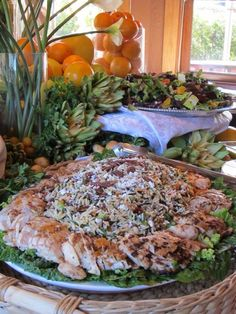 Orzo and Wild Rice Salad with Grilled Chicken Apricots and Pecans