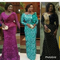 Lovely detailed outfits Available African Lace Styles, African Lace Dresses, African Dresses For Women, African Attire, Latest African Fashion Dresses, African Print Fashion, Women's Fashion Dresses, African Fashion Traditional, Lace Dress Styles