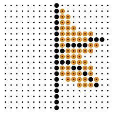 Herfst Busy Boxes, C2c Crochet, Perler Beads, Pixel Art, Teaching, Pattern, Polka Dot, Autumn, Miniatures