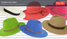 FASHIONABLE, CRUSHABLE & WASHABLE SUNHATS. Planning a beach outing, weekend getaway, picnic, pool day or overseas summer? Behold the perfect selection of lightweight, ultra-stylish sunhats that are crushable, washable and offer superior protection. Emthunzini Hats have been award the CANSA Seal of Recognition for blocking more than 98% of the sun's harmful UV rays. Sunhat sorted!