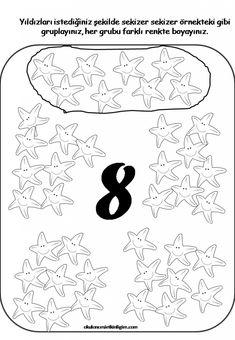 Sleep Dream, Writing Numbers, Perfect Gift For Her, Preschool Kindergarten, Worksheets For Kids, Teaching English, Preschool Activities, Mathematics, Diy For Kids