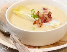 Mustard Soup with Bacon Pureed Food Recipes, Healthy Soup Recipes, Veggie Recipes, Healthy Food, Thermomix Soup, Food Inc, Deli Food, Good Food, Yummy Food