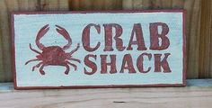 Cedar-Crab-Shack-Sign-handmade-rustic-shabby-shanty-seafood-red-inside-outside