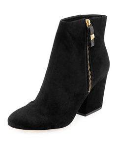 rickee suede ankle boot by Kate Spade at Neiman Marcus.