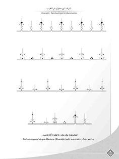 Amir Houshang Aghamiri -illumination artistic institution Islamic Art Pattern, Arabic Pattern, Pattern Art, Pattern Design, Alpona Design, Middle Eastern Art, Unalome Tattoo, Persian Pattern, Geometric Drawing