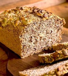 Low Carb Keto, Low Carb Recipes, Bread Recipes, Cooking Recipes, Healthy Recipes, Paleo Bread, Bread Baking, Tasty Dishes, Food Hacks
