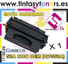 TONER 53A COMPATIBLE LASERJET M2727 NF NFS P2014 P2015 DN N NON OEM HP Q7553A