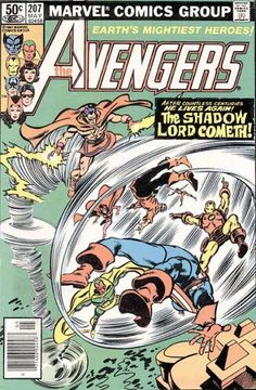Iron Man - Captain America - Vision - Scarlet Witch - Wonder Man - Gene Colan