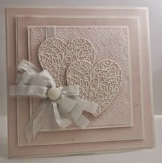 card by John Lockwood..... pretty for a wedding or anniversary